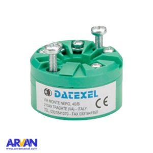 ترانسمیتر دما هدمونت DATEXEL ایتالیا مدل DAT1015